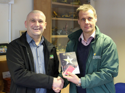 Dutton's employee scoops SPEN award